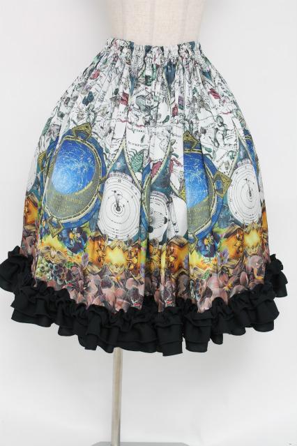 Triple fortune / 天空セラリウススカート