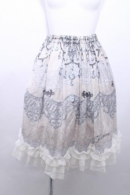 Triple fortune / 銀の国スカート