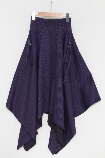 Deorart / ストライプ変形スカート