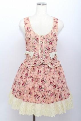 Amavel / 花柄ビスチェ&スカート