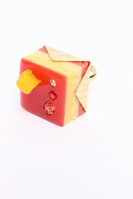 Q-pot. / Petit Cassis Cakeリング