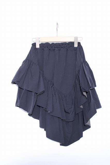 MARBLE / 3段フリルイレギュラースカート