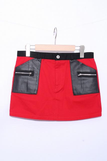 SEXY DYNAMITE LONDON (CHOICE) / レザーポケットスカート