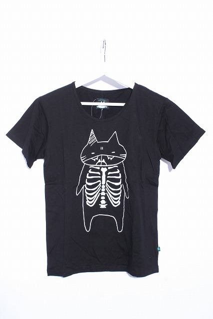 MINT NeKO / ホネホねこじろうTシャツ