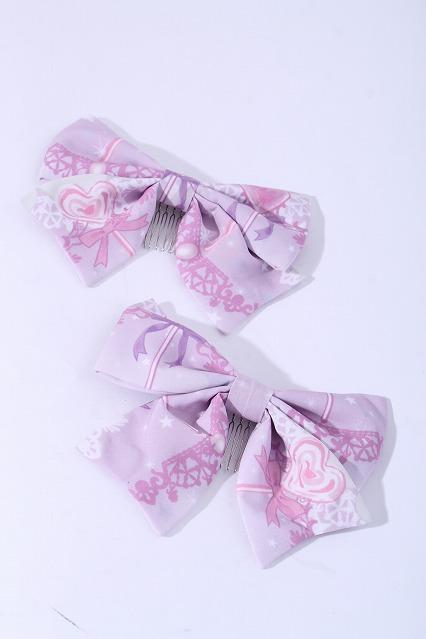 Royal Princess Alice / Magic girl perfume pot★魔法少女香水瓶ヘアコームセット