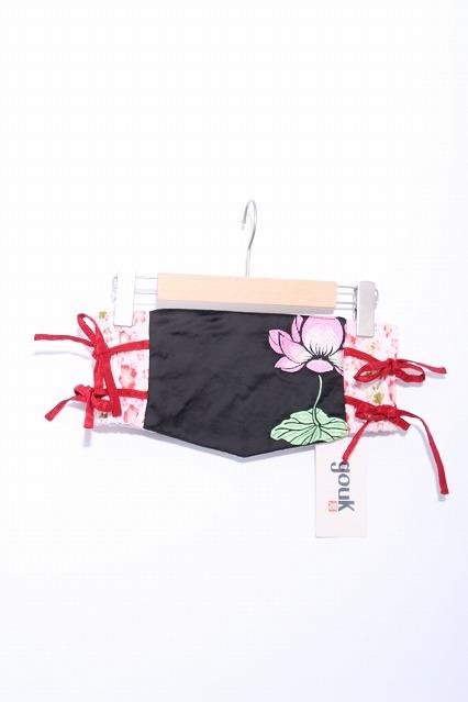 gouk / 蓮刺繍コルセット